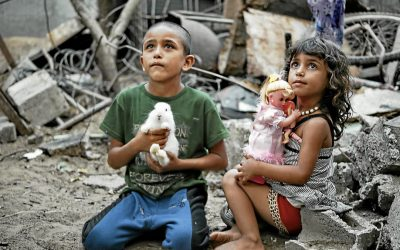 Gaza. À l'écoute des enfants traumatisés